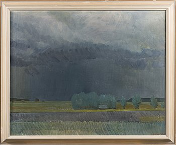 VEIKKO VIONOJA, oil on canvas, signed and dated -69.