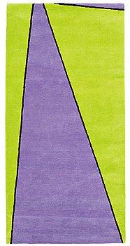 "10. Olle Baertling, A CARPET, ""Yoy"", handtufted, Baertling/Asplund, ca 201,5 x 99 cm."