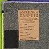 "Olle baertling, a carpet, ""yoy"", handtufted, baertling/asplund, ca 201,5 x 99 cm."