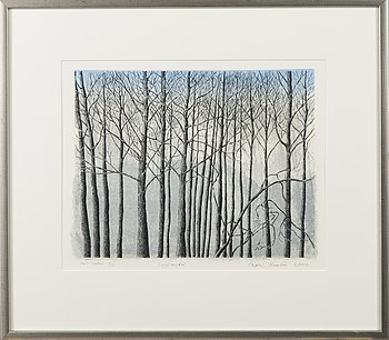 INARI KROHN, etching, signed and dated 2000, numbered Tait. vedos 4/10.