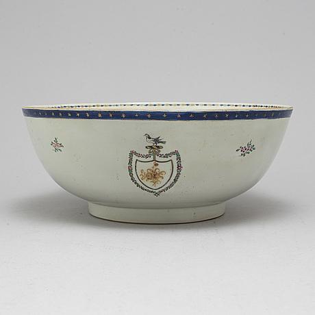 BÅlskÅl, kompani/vapenporslin. qingdynastin, qianlong (1736-95).
