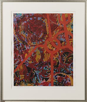 ELSA YTTI, serigraph, signed and date 1996, numbered Tpl'a 5/14.