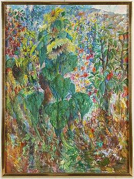 EERIK HAAMER, oil on canvas, signed.