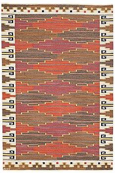 """202. Märta Måås-Fjetterström, A CARPET, """"Bruna heden"""", flat weave, ca 304,5 x 201 cm, signed AB MMF."""