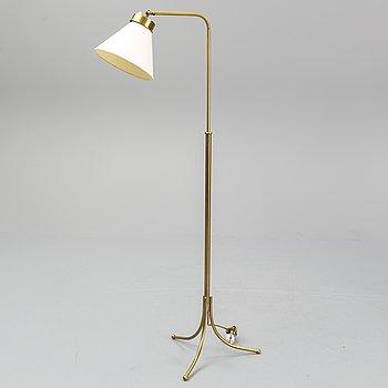 JOSEF FRANK, a model 1842 brass floor lamp, for Firma Svenskt Tenn.