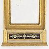 Spegel, sengustaviansk, omkring 1800.