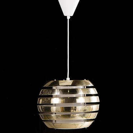 'le monde' ceiling lamp by carl thore for granhaga metallindustri, 1970's.
