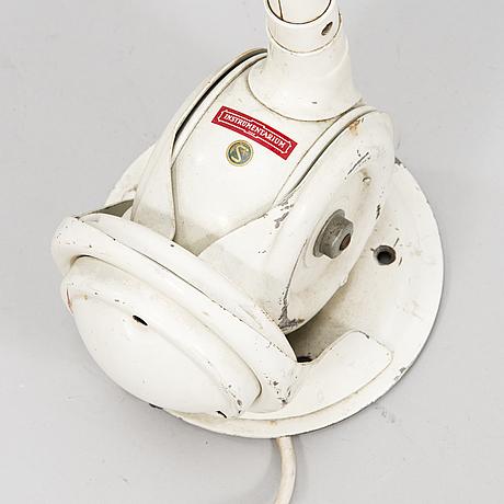 Johan petter johansson, a mid-20th century swedish industrial light 'triplex-pendel'.