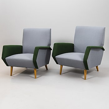 GIO PONTI,  archairs manufactured by Asko 1957-1959.