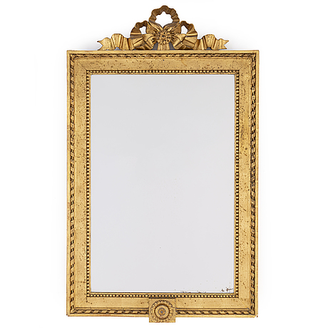 A gustavian frame / mirror, late 18th century.
