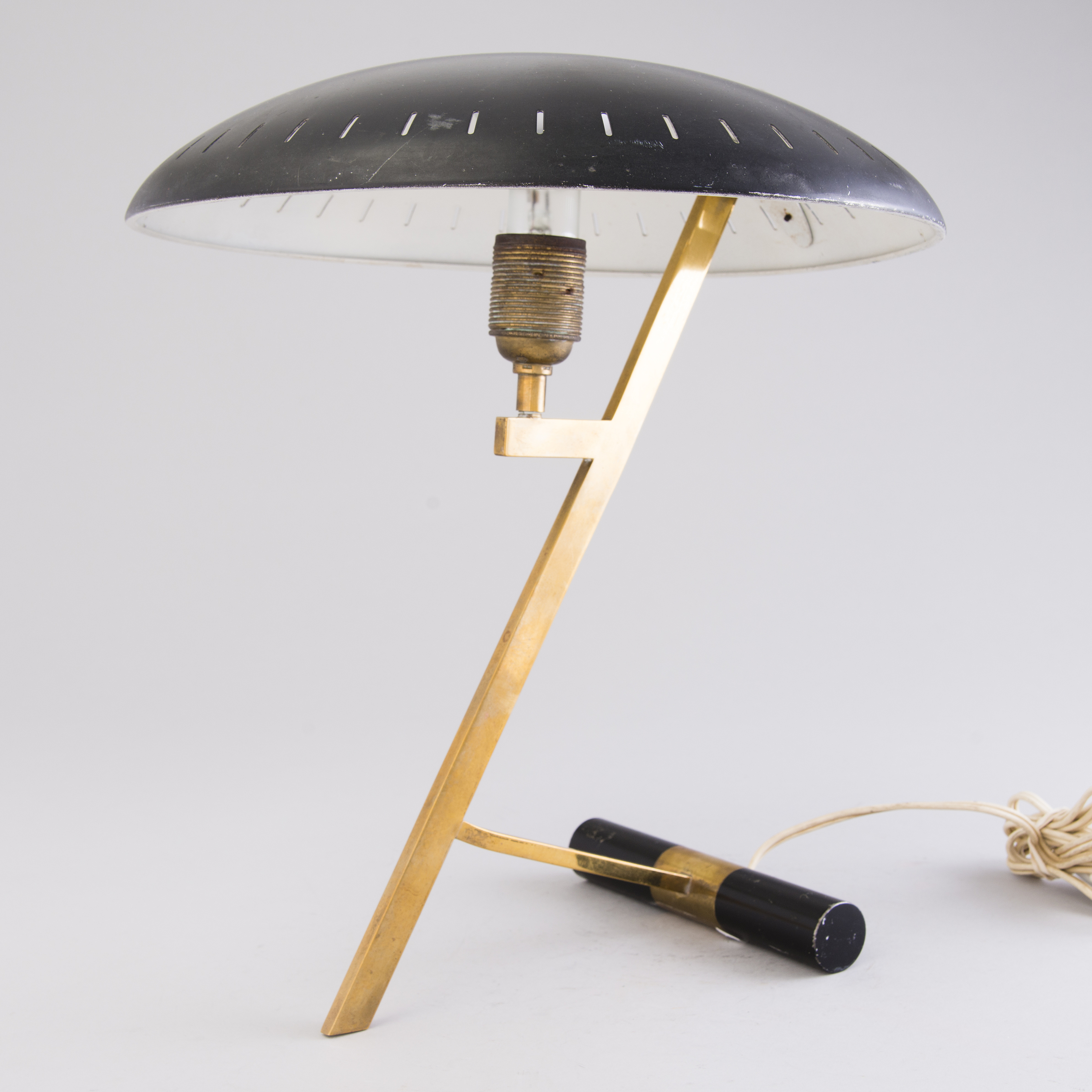 Louis Kalff Lamp.A Louis Kalff Table Lamp For Philips Holland Model