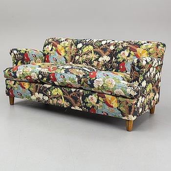 JOSEF FRANK, a model no '678' sofa, for Svenskt Tenn, Sweden.