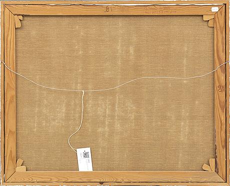 Bert johnny nilsson, oil on canvas, signed