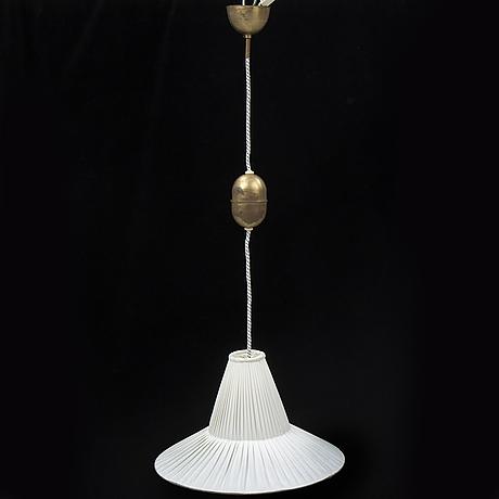 Hans bergstrÖm, a ceiling light, ateljé lyktan.