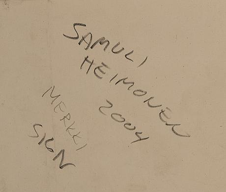 """Samuli heimonen, """"asign""""."""