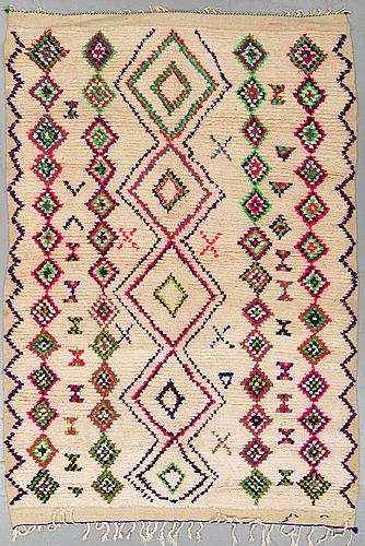 A rug, morocco, ca 245 x 156 cm.