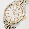 Rolex, oyster perpetual, date, wristwatch, 26 mm.