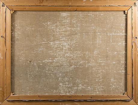 Ejnar kohlmann, öljy kankaalle, signeerattu ja päivätty 1949.