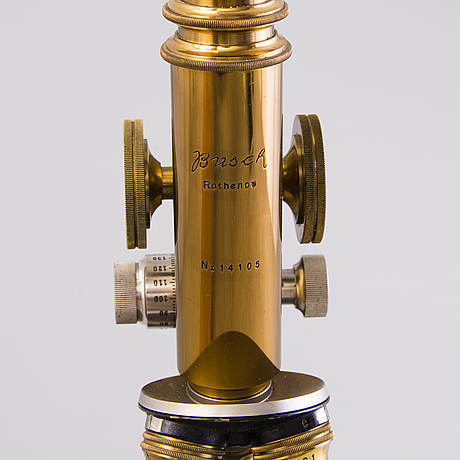 A busch microscope rathenov germany first half of 20th century.