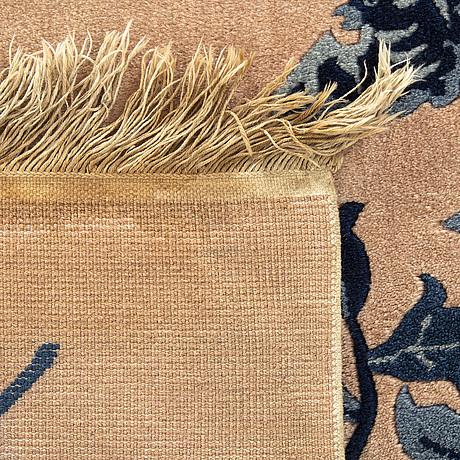 An old antique finnish carpet ca 125 x 181 cm.