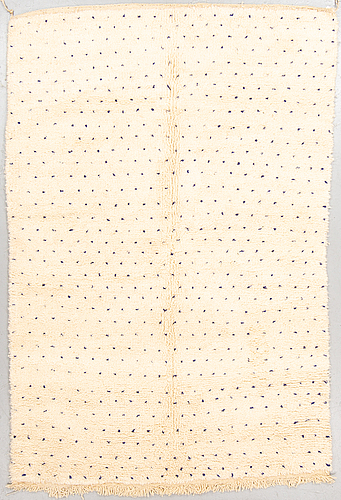 A rug, morocco, ca 236 x 158 cm.