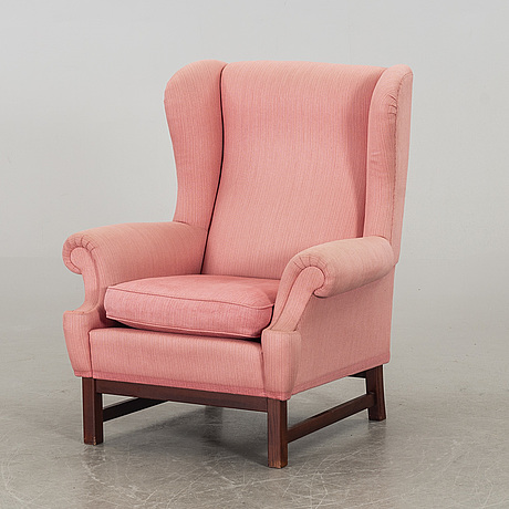 Ragnar helsÉn, an 'oxford' easy chair, svenskt tenn.
