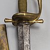 A swedish sword, second half of the 18th century.