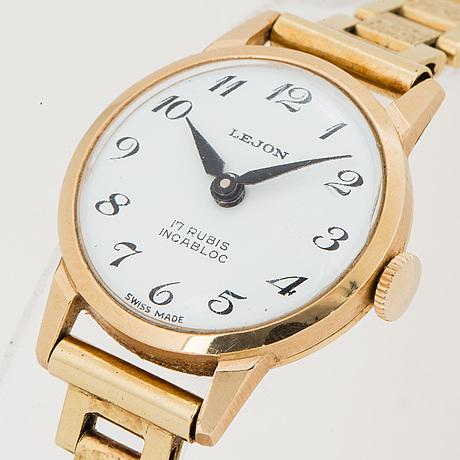 Lejon, wristwatch, 21 mm.