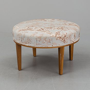 JOSEF FRANK, a model 647 stool, Svenskt Tenn, Sweden.