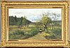 Olof hermelin, oil on canvas, signed.