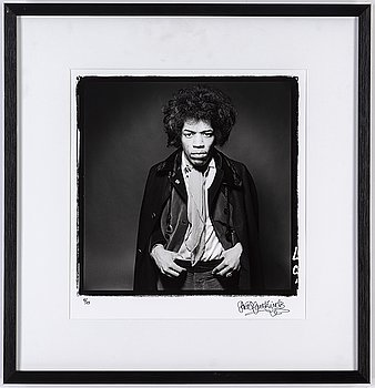 GERED MANKOWITZ, gelatin silver print. Signed and numbered 5/25.