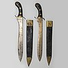 Two knives, pattern 1848.