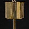Hans-agne jakobsson, a brass ceiling lamp, for markaryd, 1960s.