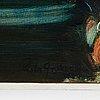 Piotr grabowski, oil on canvas, signed.