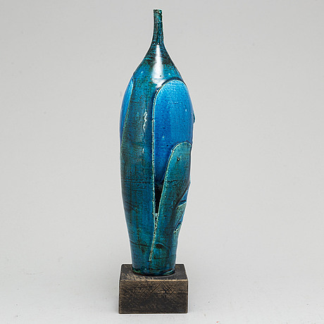 Carl-harry stÅlhane, a stoneware sculpture, for rörstrand, signed and numbered 72/75.