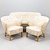 Flemming lassen, a 3-piece sofa suite manufactured by asko 1952-1956.
