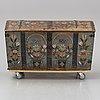 Kista, allmoge, skåne, 1800-tal.