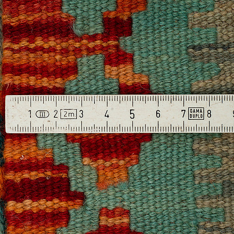 A runner, kilim, ca 205 x 65 cm.