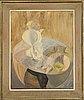 Greta knutson-tzara, oil on canvas.