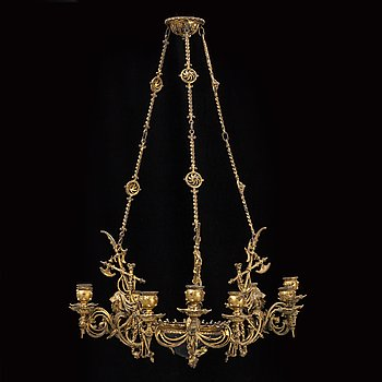 Late 1800's ceiling lamp.