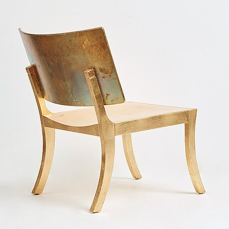 "Fredrik mattson, ""tbc (the black chair collection)"" a chair, executed in a limited edition, nr 19/22 for blå station, sweden 2008."