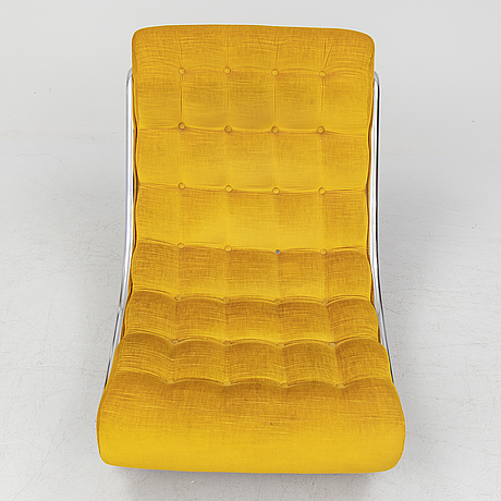 Gillis lundgren, an 'impala' easy chair from ikea, 1970's.