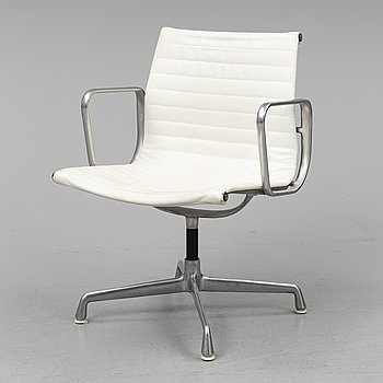 CHARLES & RAY EAMES, a 'Aluminium group 116' office chair for Herman Miller.