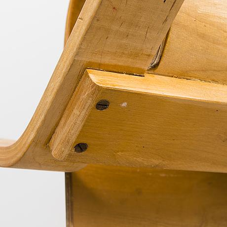 Alvar aalto, a 'paimio' 41 armchair for  o.y. huonekalu- ja rakennustyötehdas a.b. finland.
