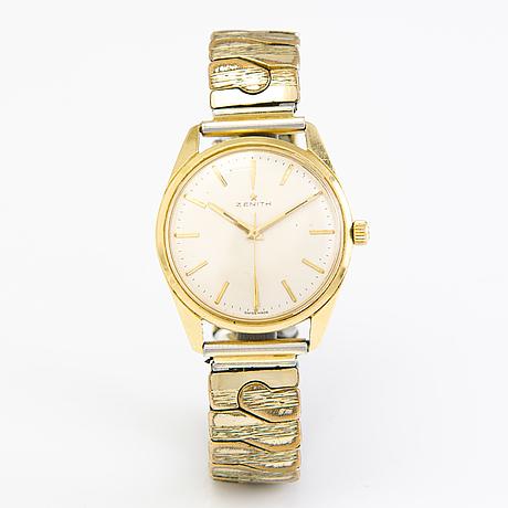 A zenith wristwatch c. 40 mm.