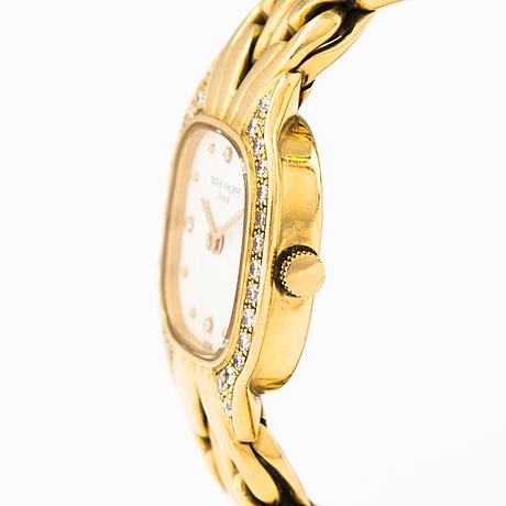 Patek philippe, wristwatch,  20 x 25 mm.