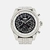 Breitling, bentley motors, wristwatch, chronograph, 48,7 mm.