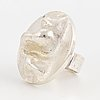 Lapponia, ring,'birth', sterlingsilver.