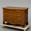 A late baroque 18th century chest of drawers.