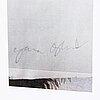 Ylva ogland, blandteknik multiplar ur paletten nr 2-3 2004, signerad.